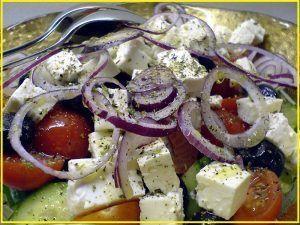 Ensalada griega
