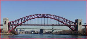 Hell gate new york Puente de arco