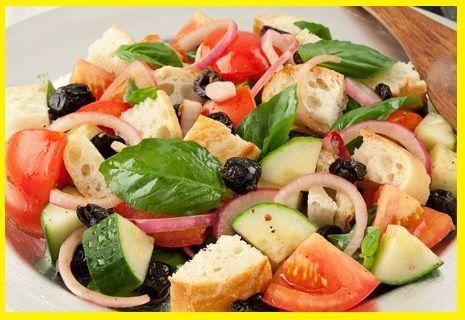 Diferentes tipos de ensaladas ejemplos y fotos for Verdura tipica romana