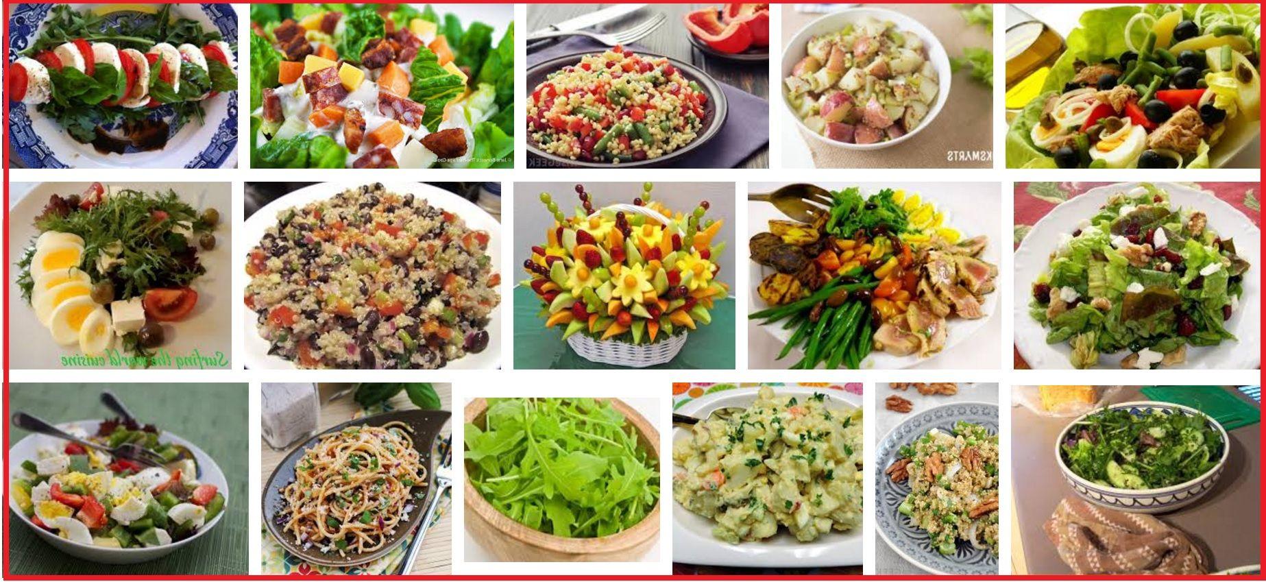 Diferentes tipos de ensaladas ejemplos y fotos - Diferentes ensaladas de lechuga ...