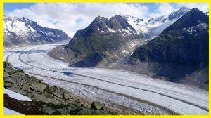 erosión por un glaciar